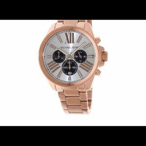 Michael Kors Rose Gold Watch-Large Face